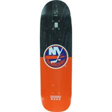 New York Islanders NHL x Alluminati Franchise 8.4 x 32.5 Shaped Skateboard Deck