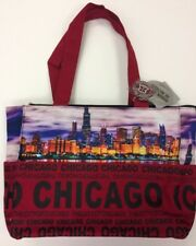 a70ca96200aa Robin Ruth Chicago Skyline Designer Fashion Tote City Bag w  Front Pocket