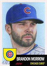 2018 Topps BRANDON MORROW Living Set #30 CHICAGO CUBS SOLD OUT