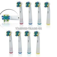 8pcs Electric Tooth Brush Heads Replacement For Braun Oral B FLOSS ACTION NEW