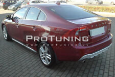 Rear Bumper Diffuser T5 R-Style Spoiler For Volvo S60 V60 Exhaust Left