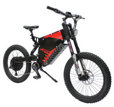 Duty Free Risunmotor Ebike 72V 5000W FC-1 Stealth Bomber Mountain Electric Bike