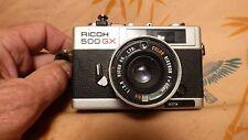 Vintage Ricoh 500-GX Camera, Rikenon 40mm Lens - Excellent Condition