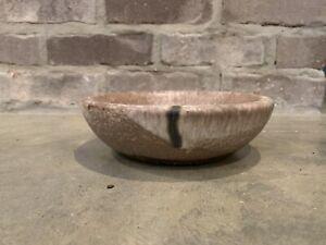 Vintage Older McCarty Pottery Brown Nutmeg Mississippi Pottery