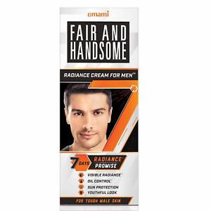 Emami Fair and Handsome 7 Day Radiance Cream For Men Oil Control  60g