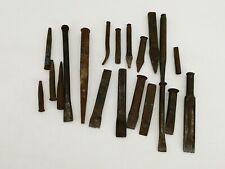 Werkzeug Konvolut Sammlung Meißel Körner Nageltreiber 20 Teile Heimwerker Werken