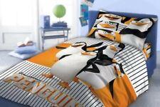Penguins of Madagascar Bedding Duvet Cover Bed Set Kid Bedding 160x200cm & 70x80