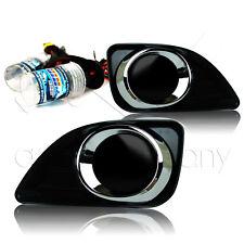 2010-2011 Toyota Camry Fog Light w/Wiring Kit & HID Conversion Kit - Super Smoke