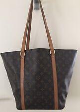 LOUIS VUITTON Monogram Canvas Sac Shopping Bag