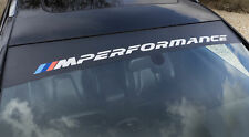 BMW M Performance (New Style) Sunstrip. Vehicle Windscreen Sun Strip