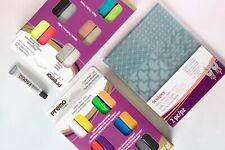 Polymer Clay & Texture Sheet Bundle Kit - Sculpey Premo Sampler / E6000