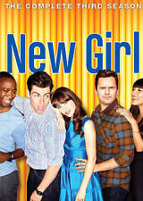 New Girl: Third Season 3 Three (DVD, 2014, 3-Disc Set) NEW!!