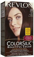Revlon Colorsilk Permanent Color Dark Soft Brown 33 (Pack of 6)