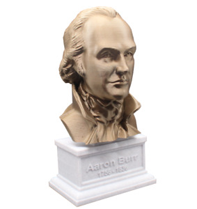 Aaron Burr 3D Printed Bust Famous US Vice President Art FREE SHIP