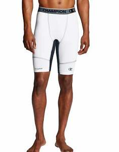 Champion Men's Gym Shorts PowerFlex 9' Men Solid Compression Shorts Performance