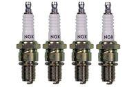 Honda CBR600F (1987 to 1988) Set of 4 NGK Spark Plugs DPR8EA-9 (4929)