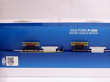 Ford F250 Pickup Truck- Escort Set - BACK RACK & TOOL BOX - 1/50 - Sword