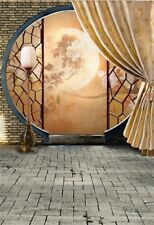 Vinyl Photo Background 5x7ft Chinese Style Arch Door Photography Backdrop Studio