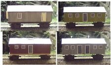 N scale Consolidated Timber Log Camp shacks Kit 3051