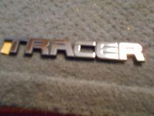 """NOS 1988 1989 1990 MERCURY TRACER TRUNK DECKLID """"TRACER"""" LETTERING EMBLEM NEW"""
