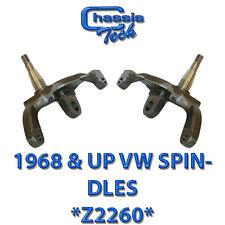 "1968-Up     Z2260 Spindles  Drop 1/2"" VW Beetle Disc  Brakes"