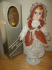 Vintage Montgomery Ward Porcelain Doll Collectors Series