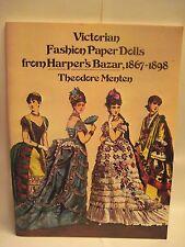 Victorian Fashion Paper Doll From Harper'S Bazar, 1867-1898 Theodore Menten