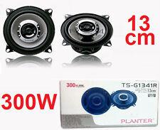 Coppia casse altoparlanti diffusori 300 Watt,13cm.Auto,suono HD.Planter 130mm