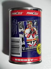1997-98 Pinnacle Inside JOHN VANBIESBROUCK Sealed Collector Can w/ 10 Card Pack