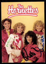 The Hornettes Autogrammkarte Original Signiert ## BC 31756