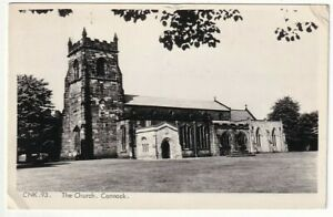 A Frith's Real Photo Post Card of The Church, Cannock. Staffordshire.