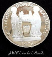 1974 Austria Plata 50 Schilling Moneda