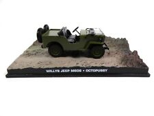 Jeep Willy's 1953 - James Bond 007 Octopussy - 1:43 Voiture Car DY046