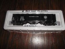 K-Line Baltimore & Ohio Die Cast Hopper W/ Black Coal Load Road#433003 -O-Scale