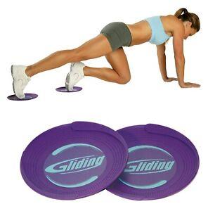 Gliding® Sliding Exercise Discs for Carpeted Floors (1 pair)