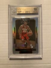 BEN SIMMONS 2016-17 Select Courtside SILVER PRIZM ROOKIE RC #251 BGS 10 POP 1