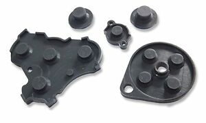 Nintendo GameCube NGC Controller Conductive Silicone Button Pad Replacements UK