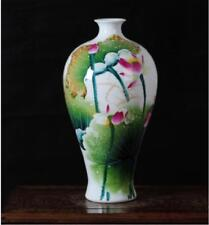 China jingdezhen Home accessories Hand painting Lotus antique Porcelain vase