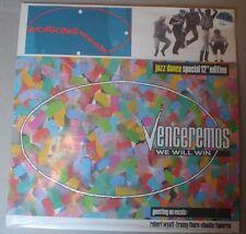 "WORKING WEEK – VENCEREMOS (WE WILL WIN)  JAZZ DANCE SPECIAL 12"" LISTEN"
