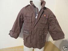 TOPOLINO # cooler PARKA Gr. 104 oliv Kapuze Jungen Kleidung Jacke Outdoorjacke