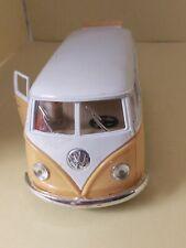 """Kinsmart 5"""" Classic 1962 Volkswagen Bus Van Diecast Model Toy 1:32 VW- Yellow"""