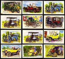12 DANDY KAUGUMMI SAMMELBILDER 60s OLDTIMER DENMARK BUBBLE GUM CHEWING GUM CARDS