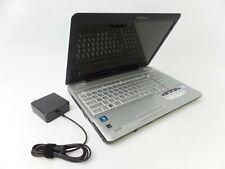 New listing Toshiba Satellite L505~2.2 Ghz Intel Pentium T4400~4 Gb~320 Gb~Dvdram~Windows 10