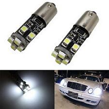 Xenon White Error Free 64132 H6W LED Bulbs For Audi Mercedes Parking Lights