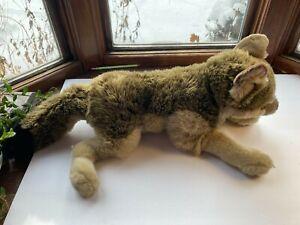 "Fao Wolf Plush 2011 Toys R Us Large 28"""