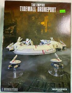 Tau Empire Tidewall Droneport Warhammer 40,000 New!