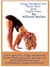 YOGA WISDOM FOR BACK PAIN & TIGHT HIPS (Allison Nolan) - DVD - Region Free