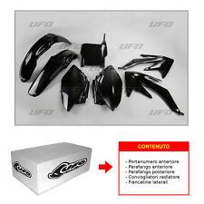 KIT PLASTICHE [UFO] HONDA CRF 450 R 2007 (NERO) - HOKIT110