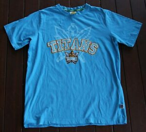 Titans NRL Light Blue T-Shirt (Size: Age 14-16 APPROX.)