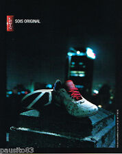PUBLICITE ADVERTISING 085  2006  LEVI'S   chaussures baskets